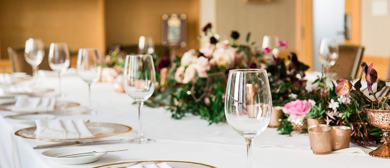 Weddings at The C restaurant + bar